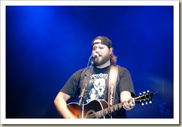 One down, five to go … Randy Houser opens our 2009 Appalachian Fair
