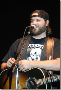 Randy Houser is doing more than just horse around