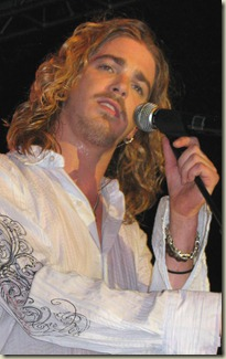 Bucky Covington performs back home in Rockingham, N.C.