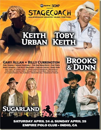 Stagecoach Festival 2010 announces line-up