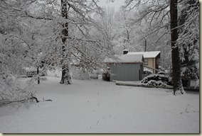 We got our White Christmas in northeast Tennessee