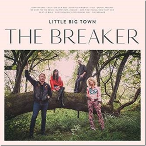 Little big town s the breaker releases to critical for Town and country magazine sweepstakes