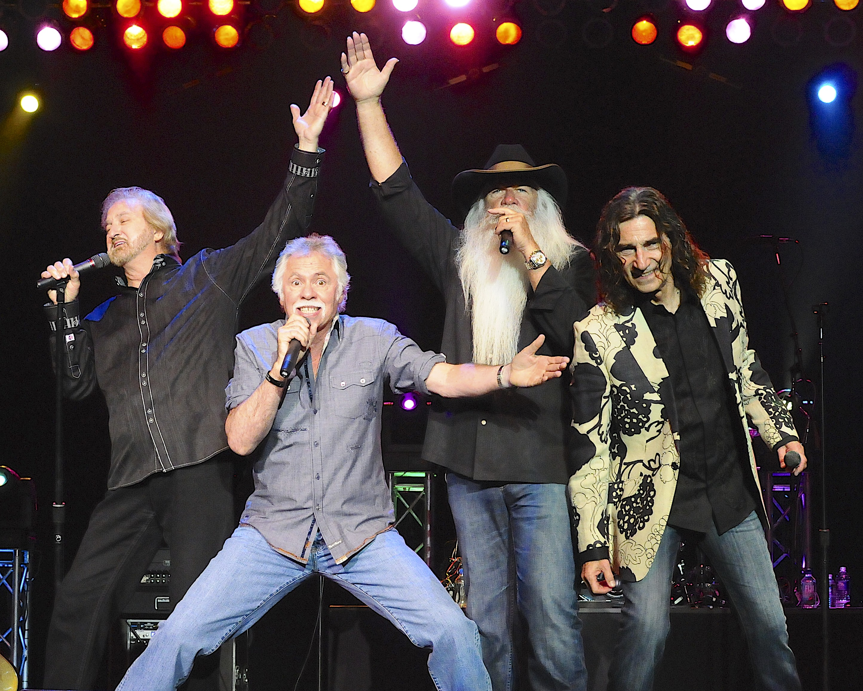 Country music legends, The Oak Ridge Boys launch their suit line ...