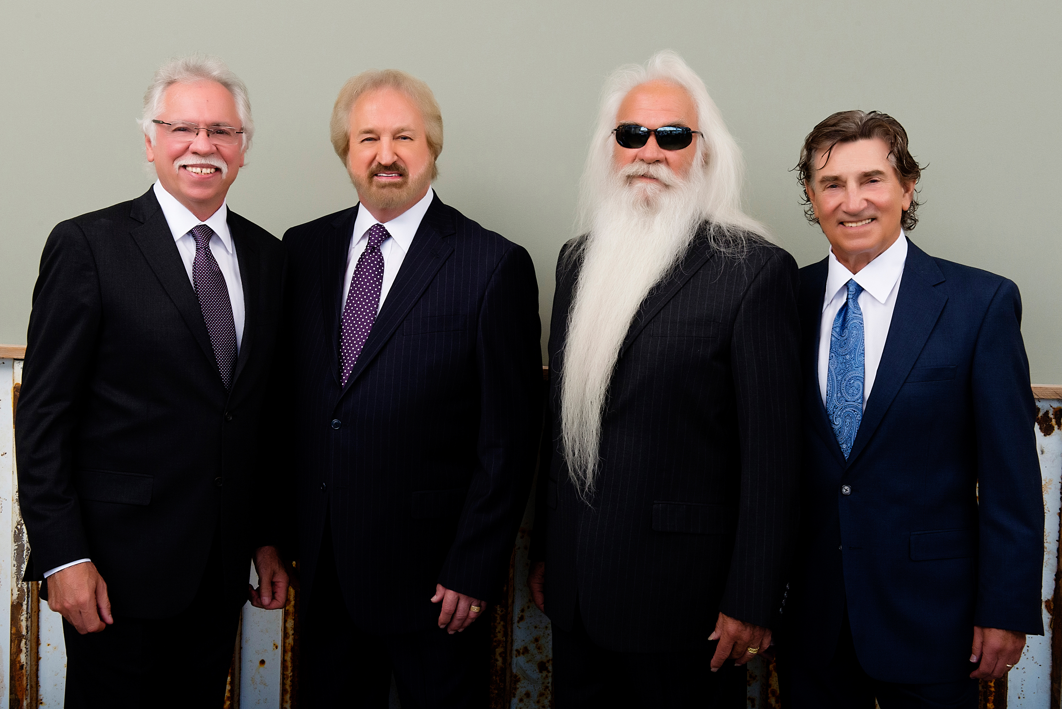 Country music legends, The Oak Ridge Boys launch their suit line with a mission to bring jobs home to America