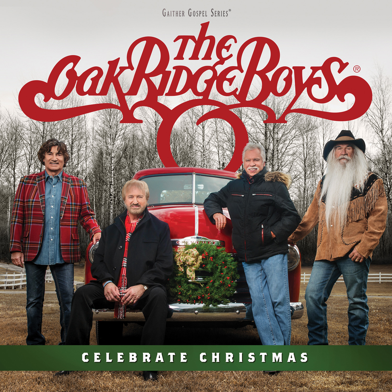 The Oak Ridge Boys 'Celebrate Christmas' available at Cracker Barrel® Old Country Store locations