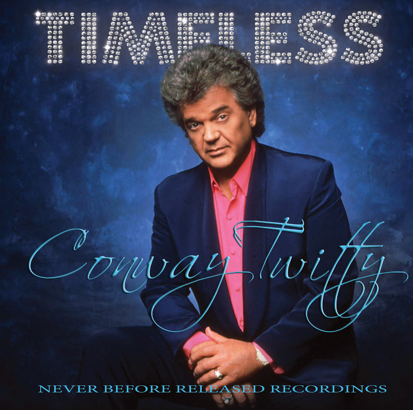 First Conway Twitty vinyl available in 26 years – aptly titled TIMELESS