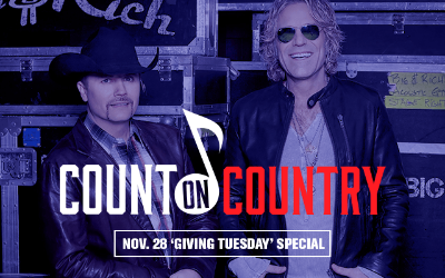 "Entercom announces ""Count On Country"" to Air on Giving Tuesday, Nov. 28"
