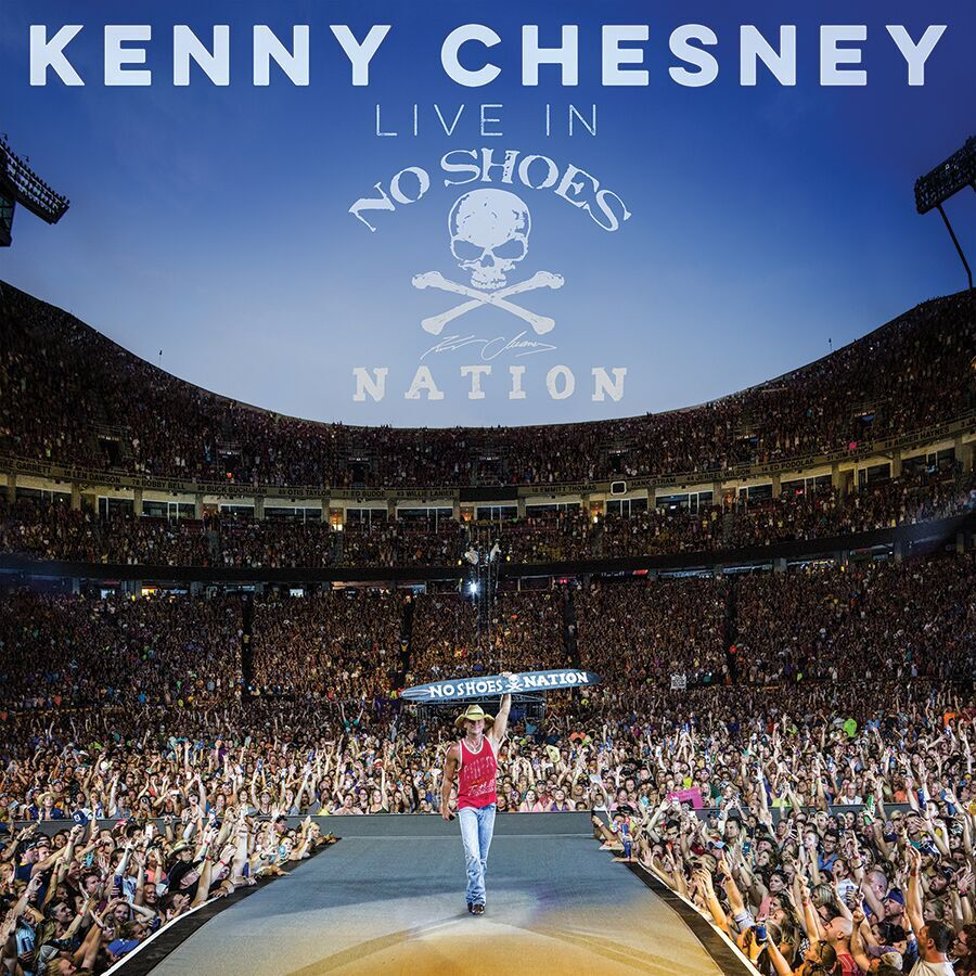 Kenny's LIVE IN NO SHOES NATION bows #1 Billboard 200 Album; 219,000 First Week Sales