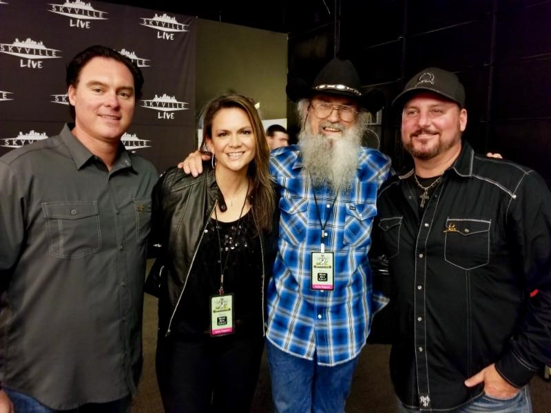 Smith & Wesley visit Uncle Si Robertson at Music Row Live!