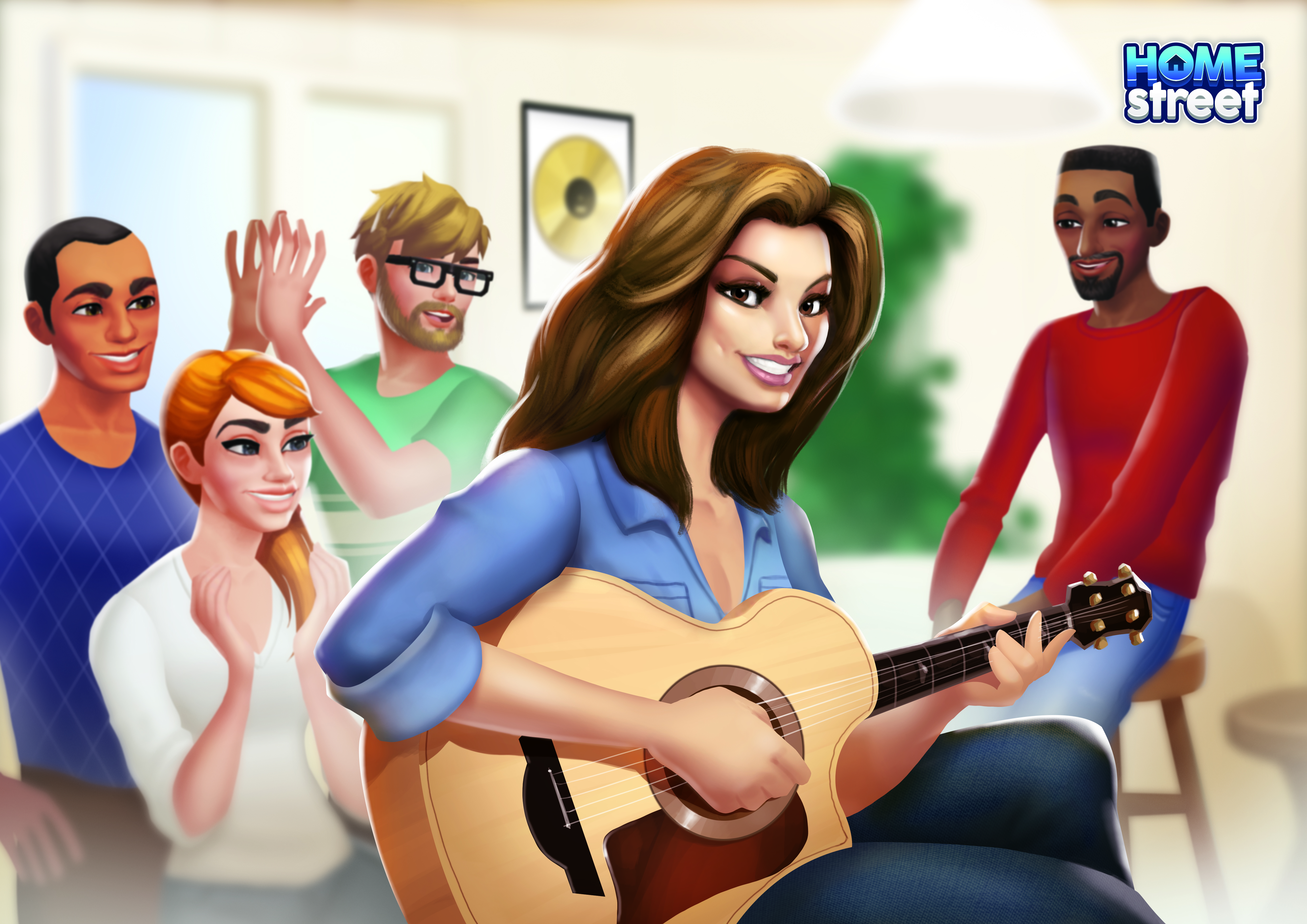 Shania Twain appears as guest character in Home Street mobile game