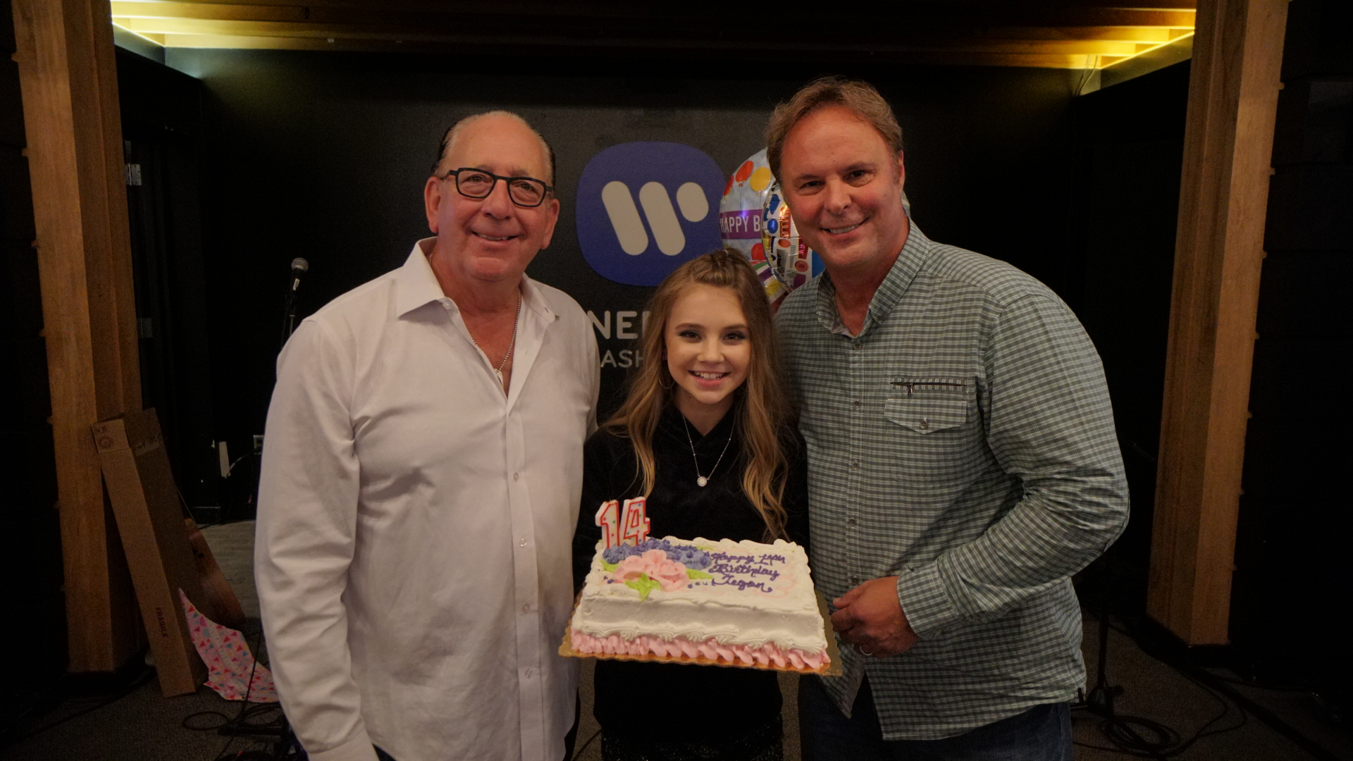 Warner Music Nashville throws a surprise party for Tegan Marie's 14th birthday