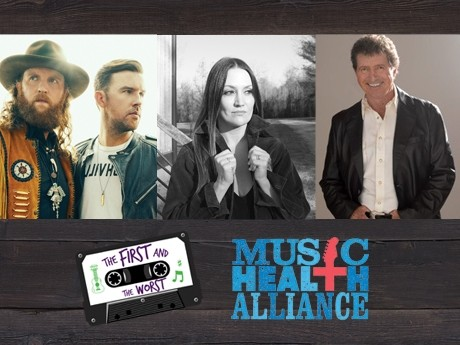 "Brothers Osborne, Mac Davis and Natalie Hemby to headline ""The First and the Worst"""
