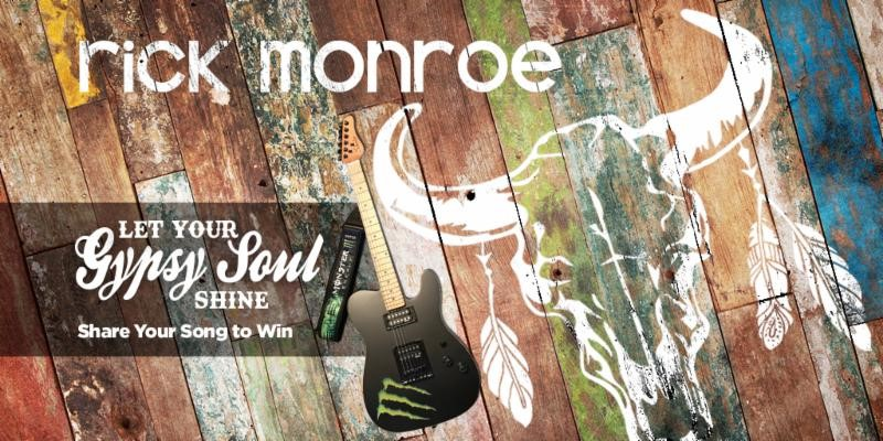 "Rick Monroe's ""Gypsy Soul"" contest winner announced"