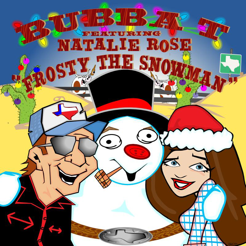 """Bubba T. brings holiday cheer with Christmas classic """"Frosty The Snowman"""""""