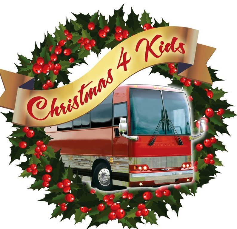 Christmas 4 Kids Tour Bus Show to include Halfway to Hazard, Shenandoah, TG Sheppard, Kelly Lang and more!