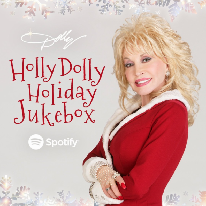 Listen To Dolly Parton's 'Holly Dolly Holiday Jukebox' on Spotify