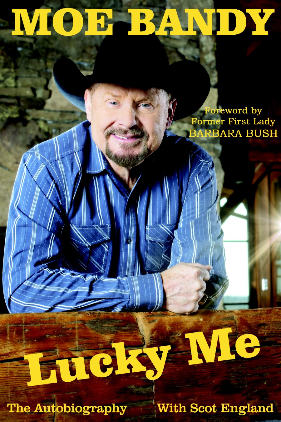 Moe Bandy autobiography 'Lucky Me' available January 26