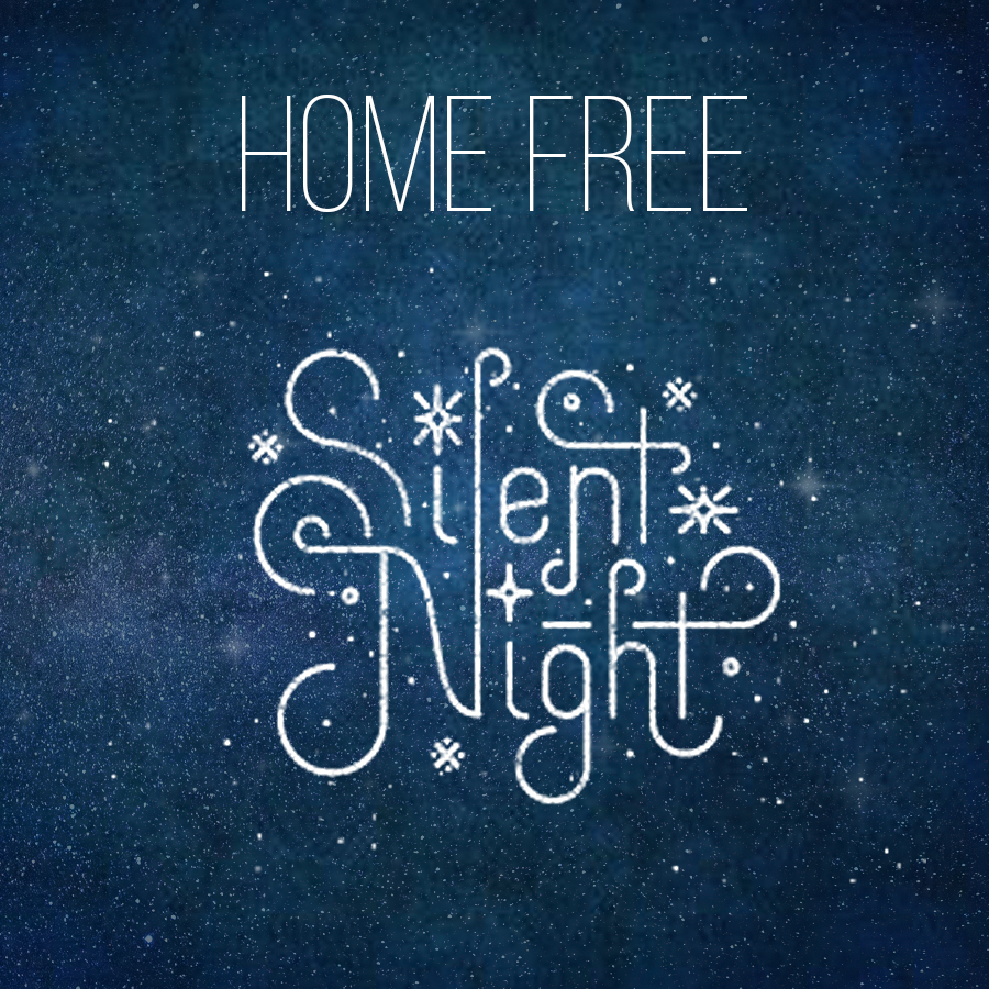 "Home Free celebrates the spirit of the season with tranquil ""Silent Night"" video"
