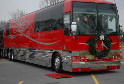 Brickshore Media clients part of Christmas 4 Kids Tour Bus Show to help those in need this holiday season