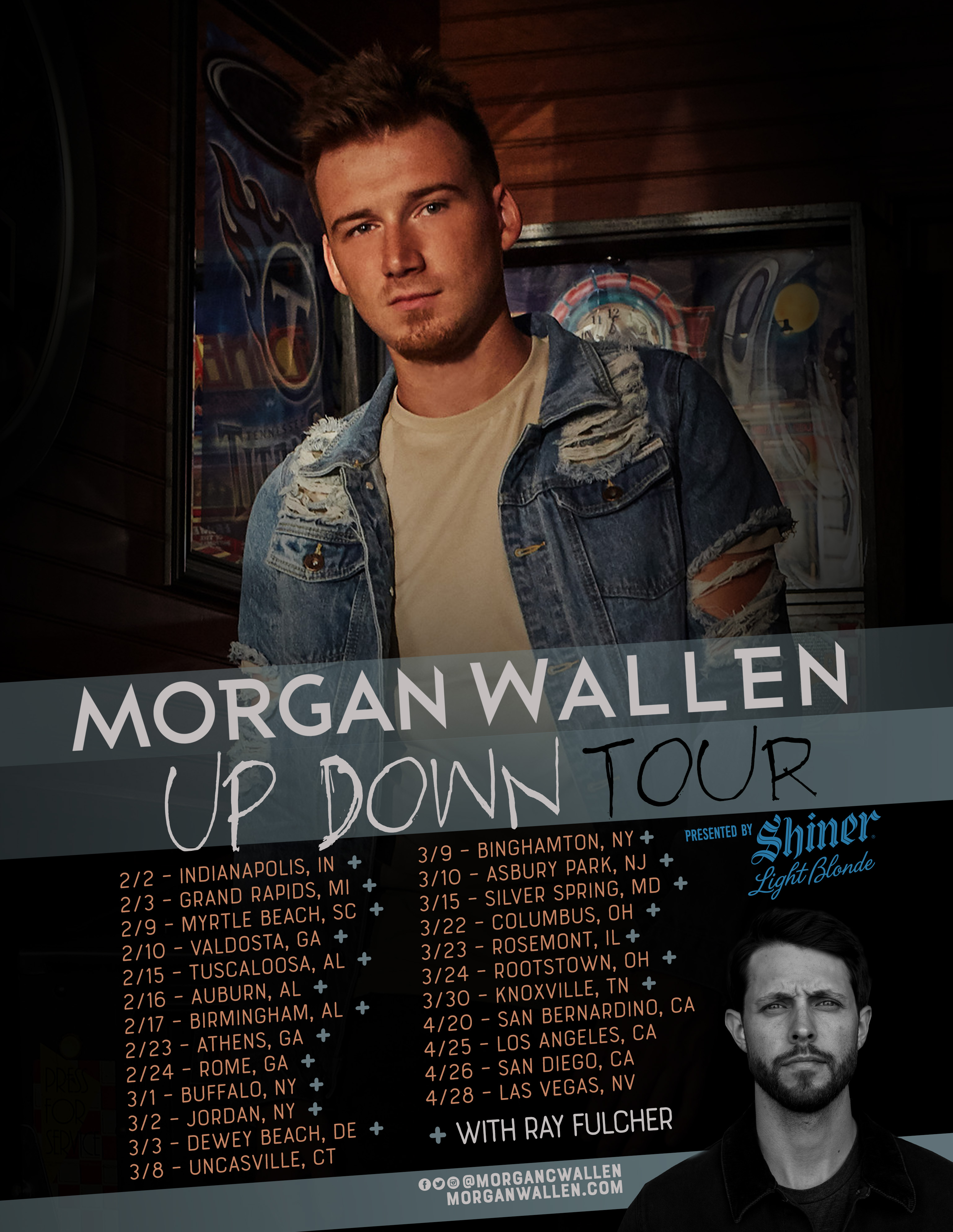 Morgan Wallen set for headlining Up Down Tour presented by Shiner Light Blonde