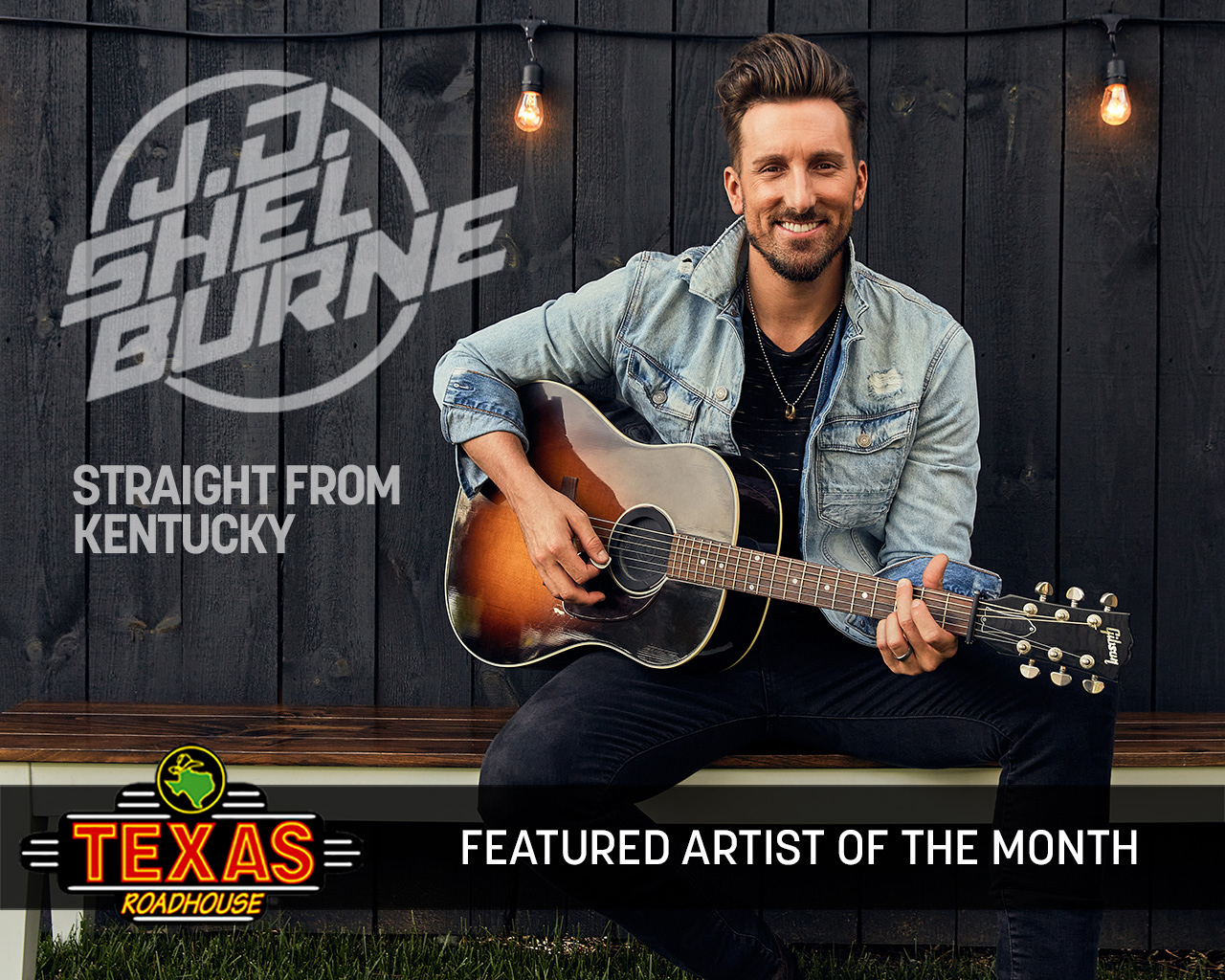 "J.D. Shelburn is May ""Artist of the Month"" at Texas Roadhouse nationwide"