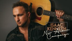 Isaac Kenneth reaches Kickstarter Campaign goal — new album in the works