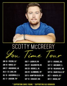 """Scotty McCreery Announces 2021 Tour as """"You Time"""" Breaks Top 25"""